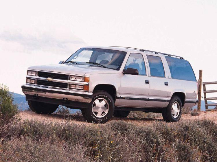 Фото Chevrolet Suburban GMT400 - схожий с Toyota Land Cruiser 70