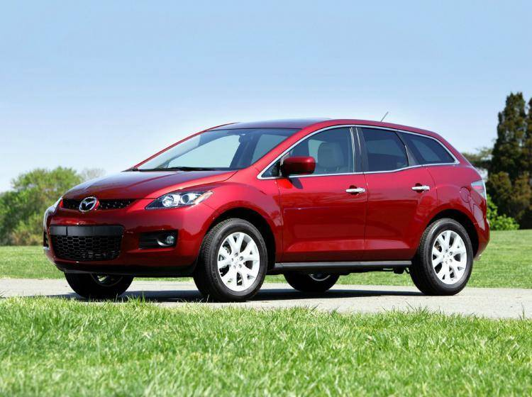 Фото Mazda CX-7 I - схожий с Ford Escape II