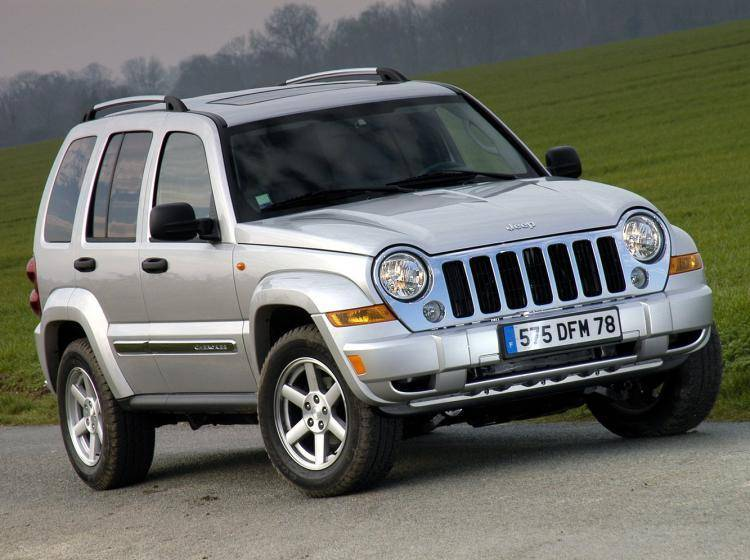 Фото Jeep Cherokee KJ рестайлинг - конкурент Mercury Mountaineer II