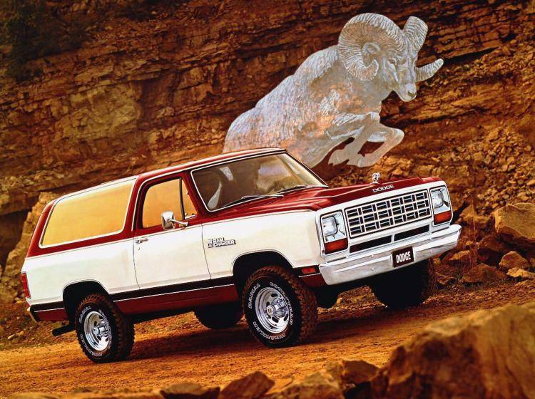 Фото Dodge Ramcharger II - схожий с Toyota Land Cruiser 70