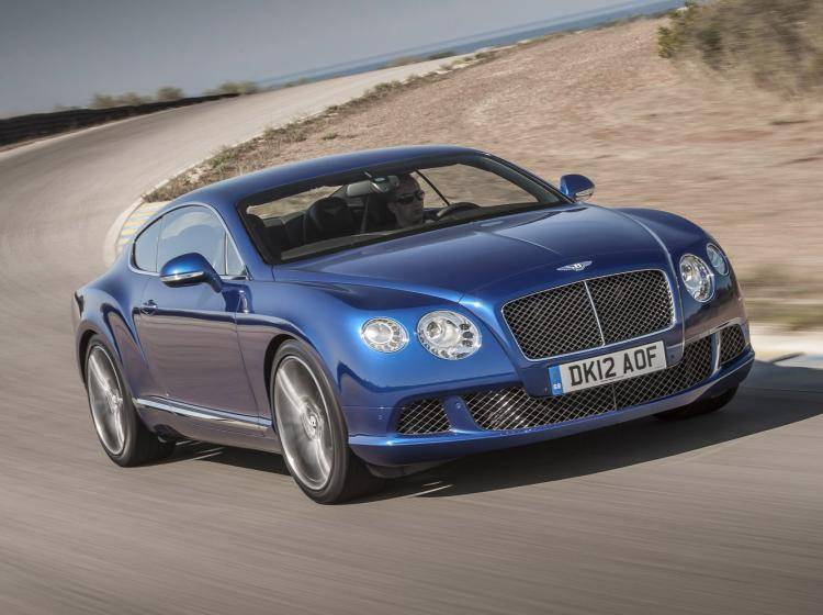 Фото Bentley Continental GT I - конкурент Nissan 350Z Z33 рестайлинг