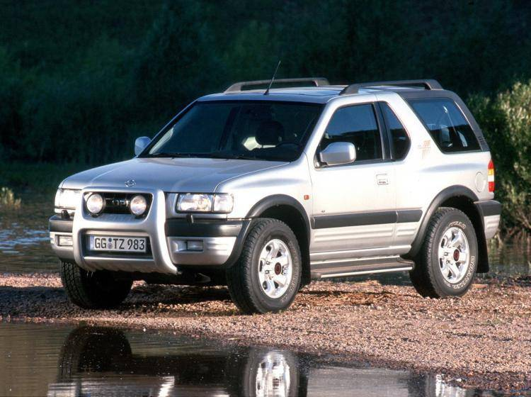 Фото Opel Frontera B рестайлинг - схожий с Toyota Land Cruiser 70
