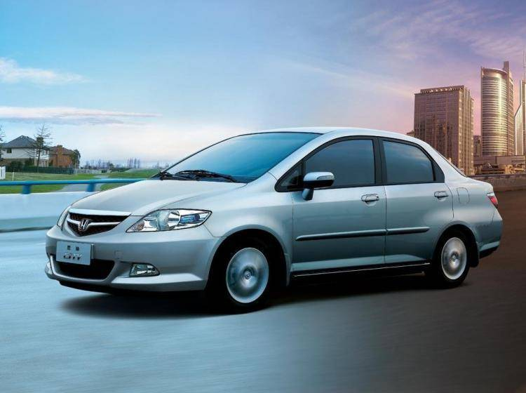 Фото Honda City IV - конкурент Kia Rio II