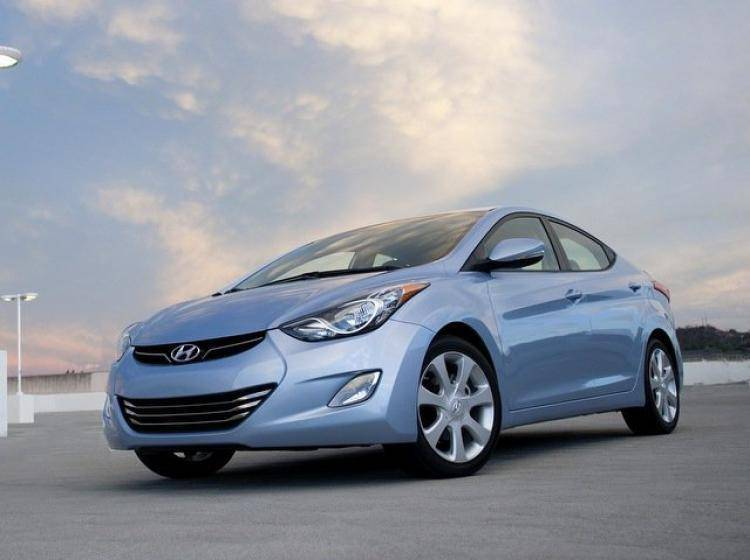 Фото Hyundai Elantra V - схожий с Ford Focus (North America) II
