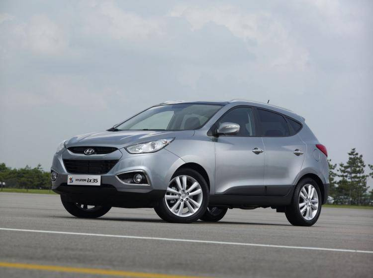 Фото Hyundai ix35 I - схожий с Ford Escape II
