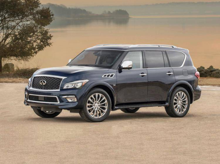 Фото Infiniti QX80 I рестайлинг - конкурент Ford Expedition U324 рестайлинг