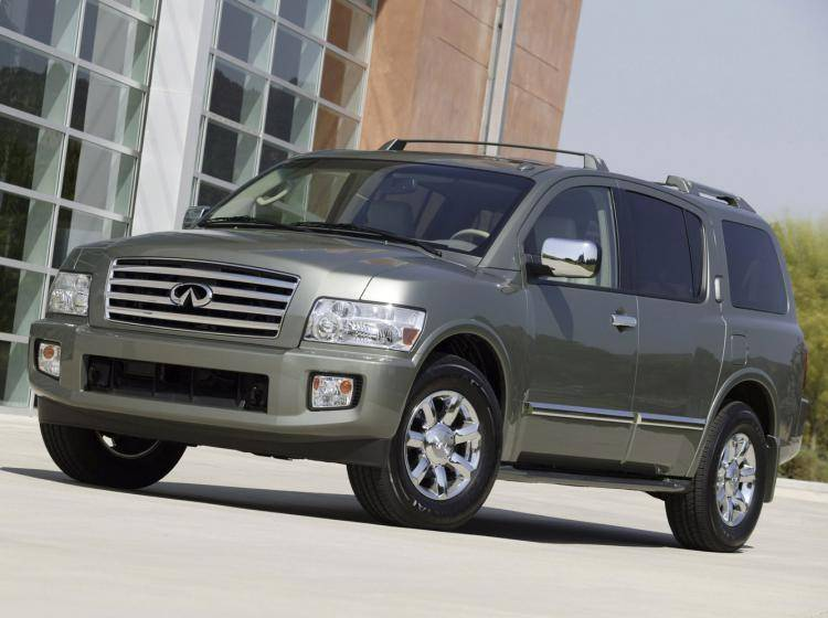 Фото Infiniti QX JA60 - конкурент Mercury Mountaineer II
