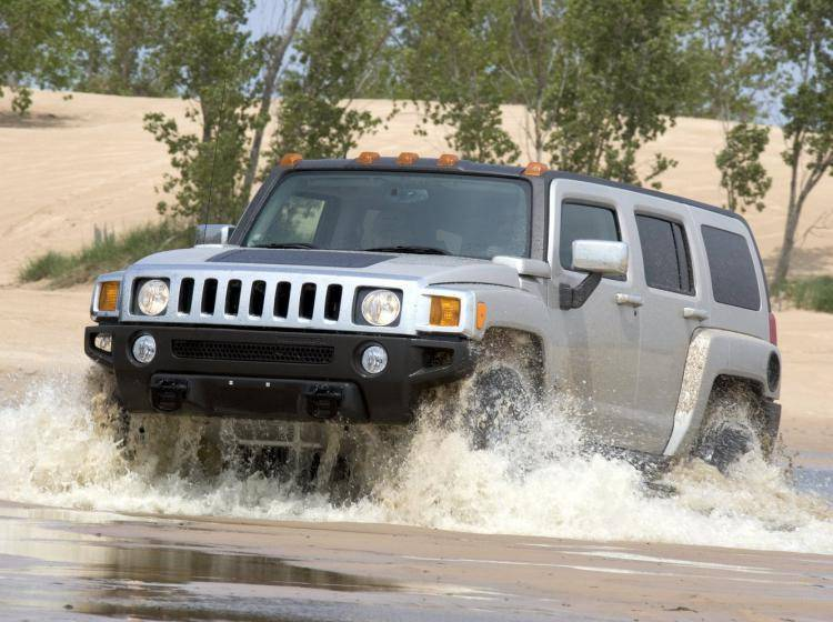Фото Hummer H3 I - конкурент Mercury Mountaineer II