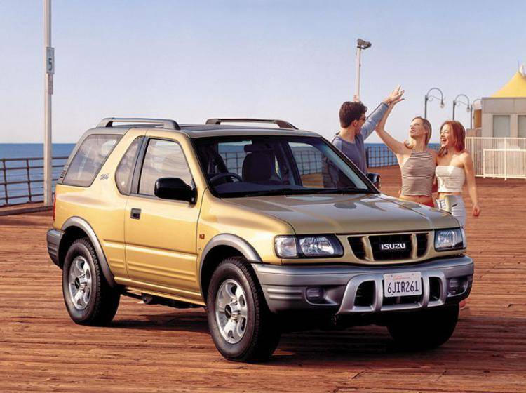 Фото Isuzu MU II - схожий с Toyota Land Cruiser 70