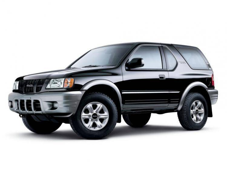 Фото Isuzu Rodeo II - конкурент Mercury Mountaineer II