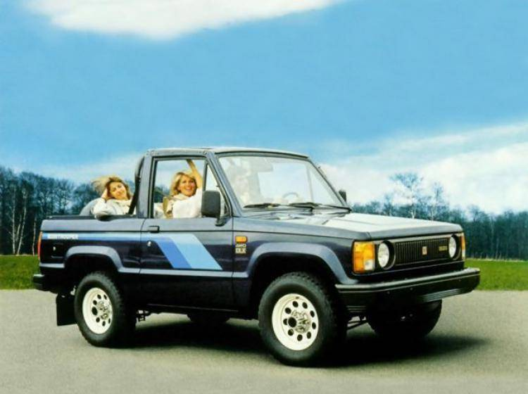 Фото Isuzu Trooper I - конкурент Toyota Land Cruiser 80
