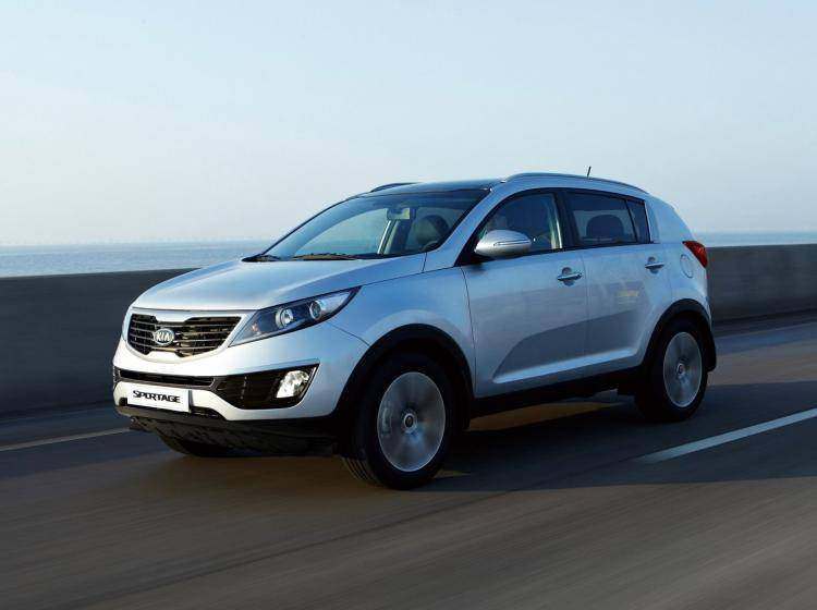 Фото Kia Sportage III - схожий с Ford Escape II