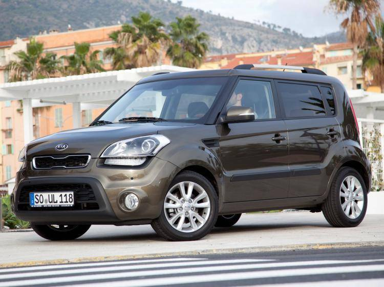 Фото Kia Soul I рестайлинг - схожий с Ford Escape II