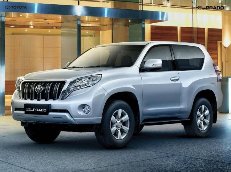Фото Toyota Land Cruiser Prado 150 рестайлинг - схожий с Lincoln Navigator U326