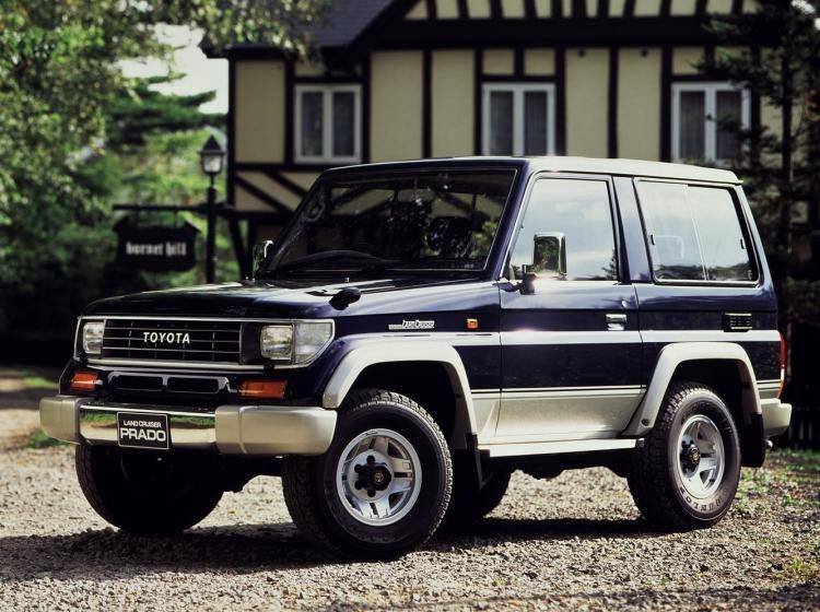 Фото Toyota Land Cruiser Prado 70 - схожий с Toyota Land Cruiser 70