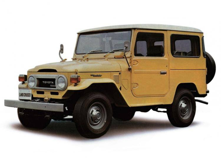Фото Toyota Land Cruiser 40 - конкурент Toyota Hilux Surf I