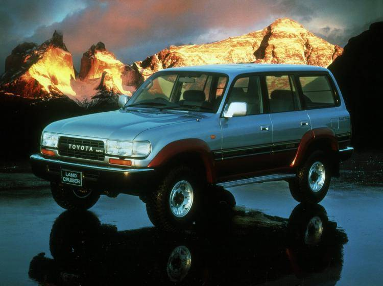 фотография Toyota Land Cruiser 80