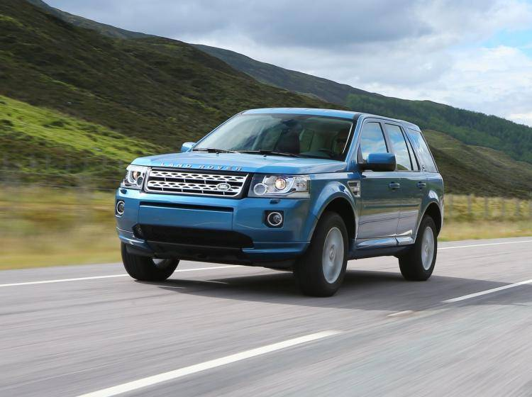 Фото Land Rover Freelander II рестайлинг - схожий с Ford Escape II