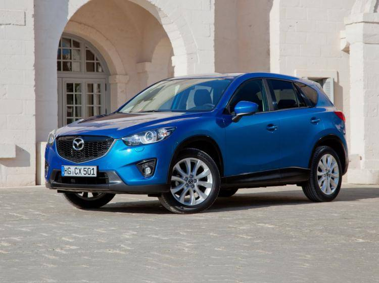 Фото Mazda CX-5 I - схожий с Ford Escape II