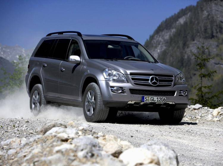 Фото Mercedes-Benz GL-klasse X164 - конкурент Mercury Mountaineer II