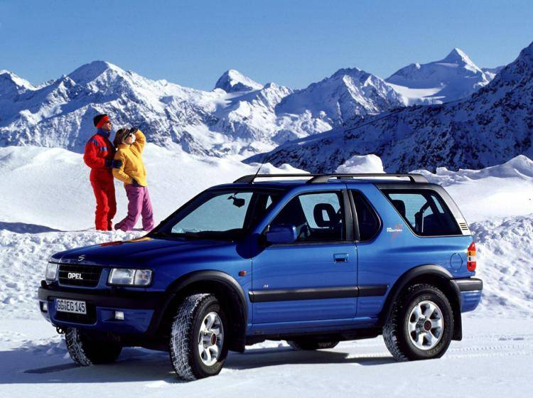 Фото Opel Frontera B - конкурент Isuzu Trooper II