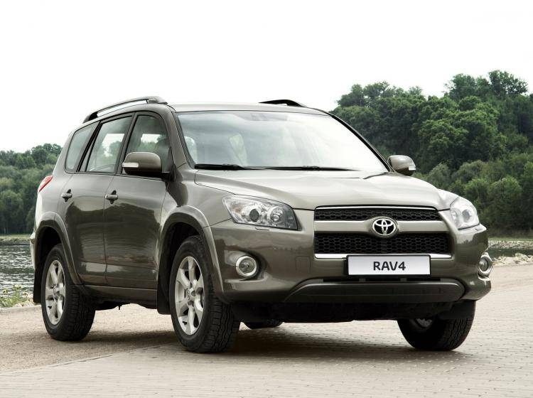 Фото Toyota RAV 4 CA30 рестайлинг - схожий с Ford Escape II