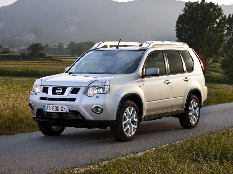 Фото Nissan X-Trail T31 рестайлинг - схожий с Ford Escape II