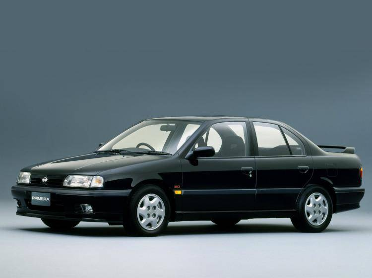 Фото Nissan Primera I - конкурент Honda Accord IV