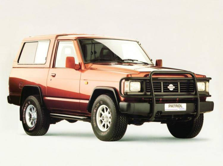 Фото Nissan Patrol K160 - конкурент Toyota Land Cruiser 80