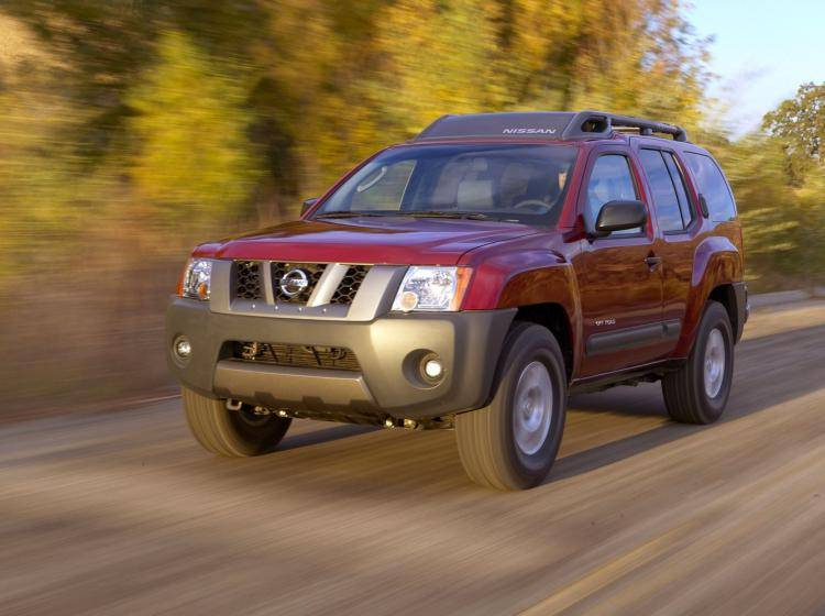 Фото Nissan X-Terra TN50 - конкурент Mercury Mountaineer II