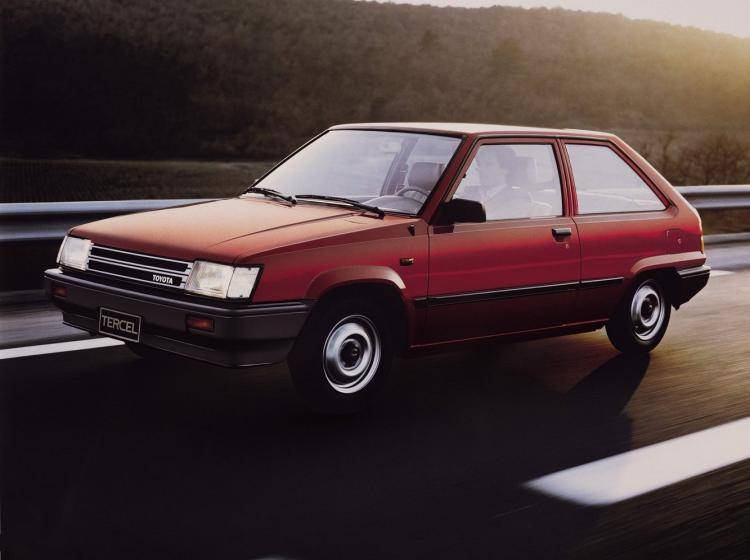 Фото Toyota Tercel L20 - конкурент Honda City II