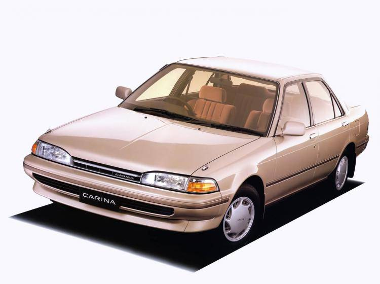 Фото Toyota Carina T170 - конкурент Honda Accord IV