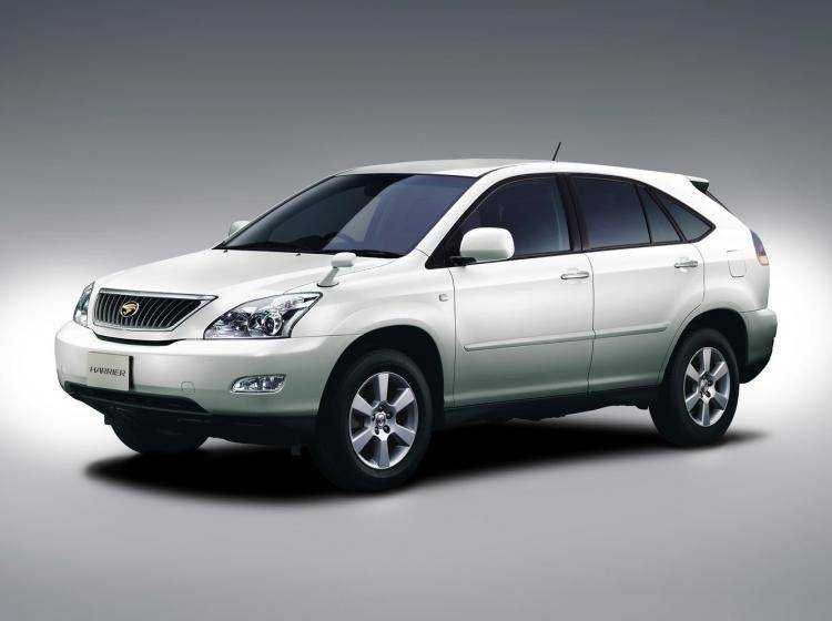 Фото Toyota Harrier XU30 - конкурент Toyota RAV 4 CA30
