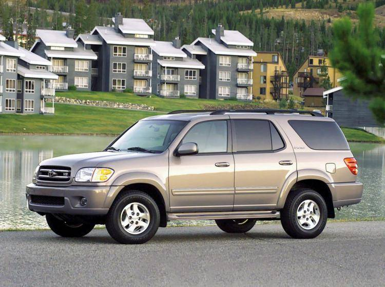 Фото Toyota Sequoia I - конкурент Isuzu Trooper II