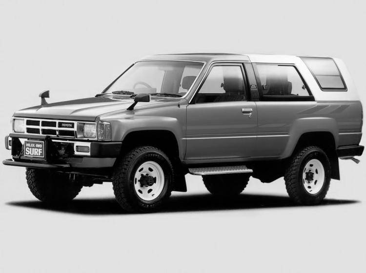 Фото Toyota Hilux Surf I - схожий с Toyota Land Cruiser 70