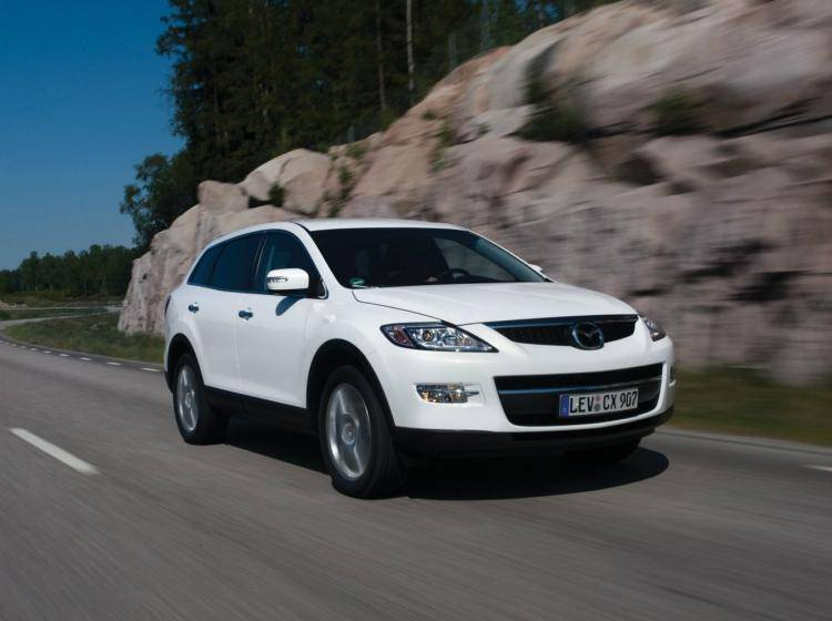 Фото Mazda CX-9 I - схожий с Ford Escape II