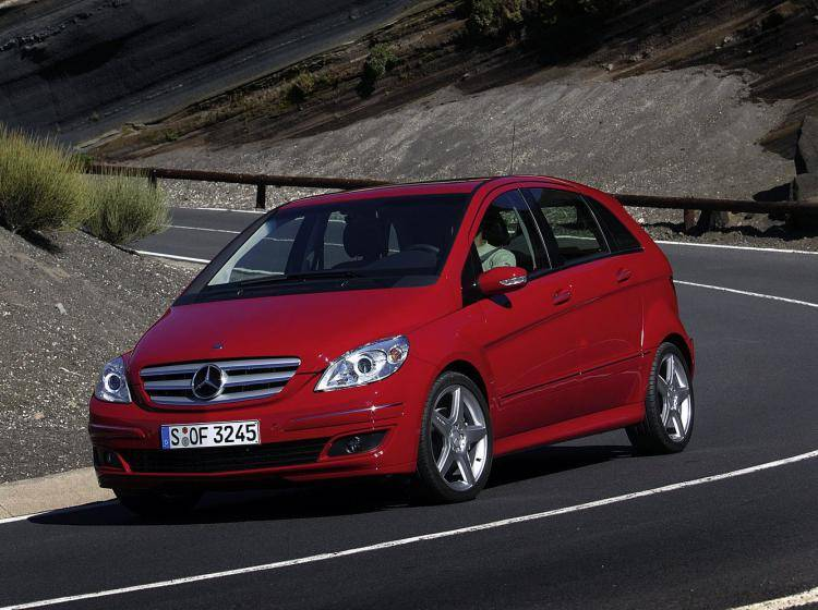 Mercedes-benz B-klasse W245 1.5 MT (95 л.с.)