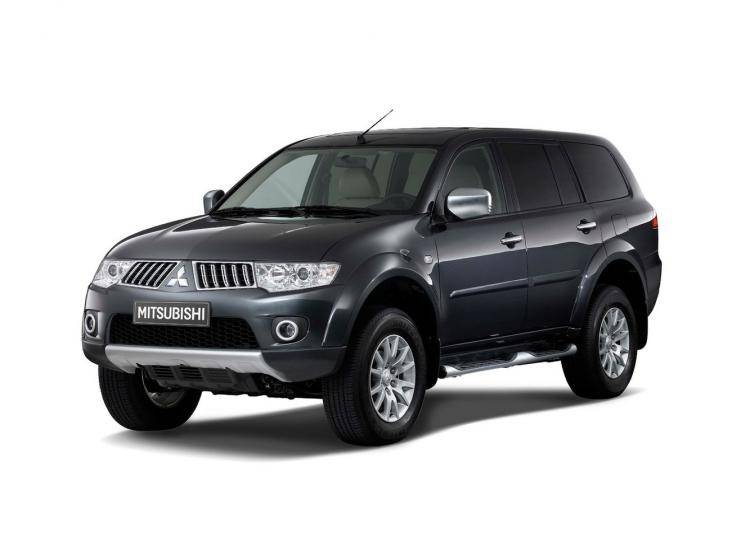 Фото Mitsubishi Pajero Sport II - схожий с Jeep Grand Cherokee SRT8 WK2