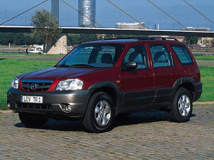 Фото Mazda Tribute I - схожий с Ford Escape II
