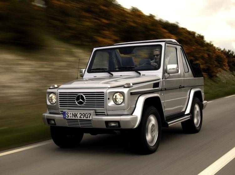 Фото Mercedes-Benz G-klasse W463 - конкурент Mercury Mountaineer II