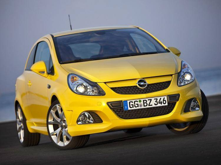 Фото Opel Corsa OPC D рестайлинг - конкурент MINI Hatch R56