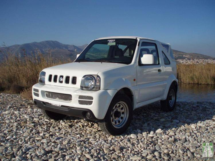 Фото Suzuki Jimny JB43 рестайлинг - схожий с Toyota Land Cruiser 70