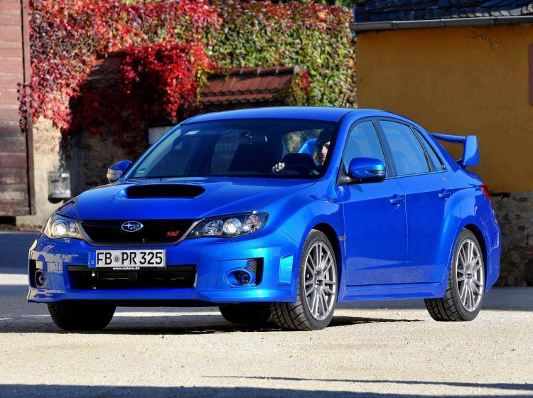 Фото Subaru Impreza WRX STi III - схожий с Ford Focus (North America) II