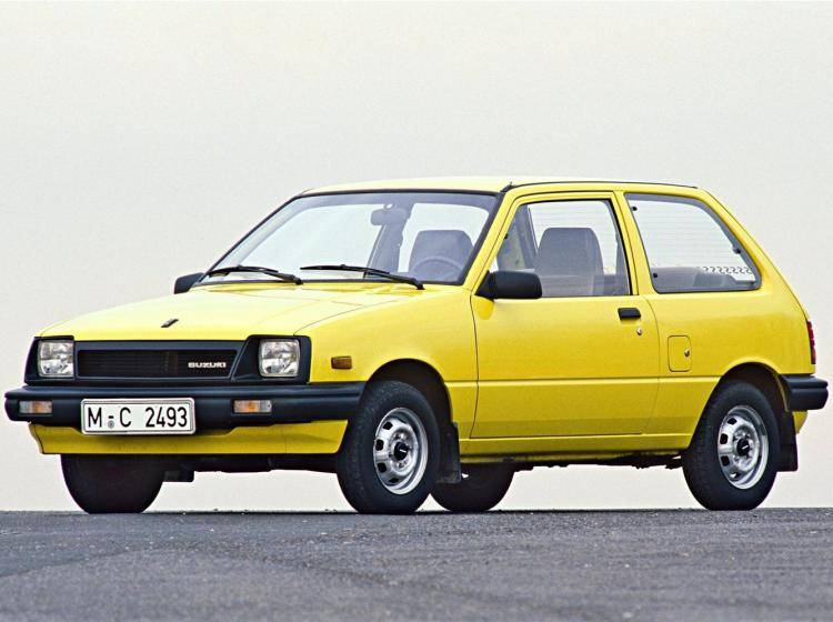 Фото Suzuki Swift I - конкурент Honda City II