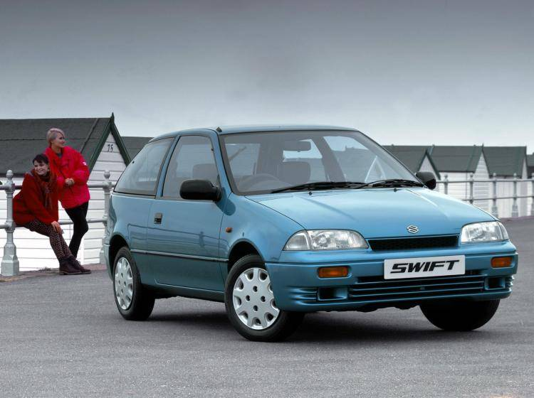 Фото Suzuki Swift II - конкурент Suzuki Swift I