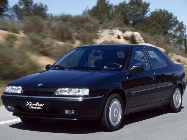 Фото Citroen Xantia I - конкурент Honda Accord IV