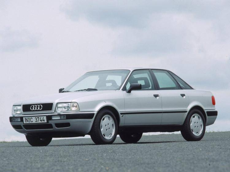 Фото Audi 80 B4 - конкурент Honda Accord IV