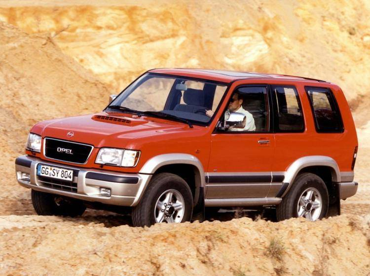 Фото Opel Monterey A рестайлинг - конкурент Isuzu Trooper II