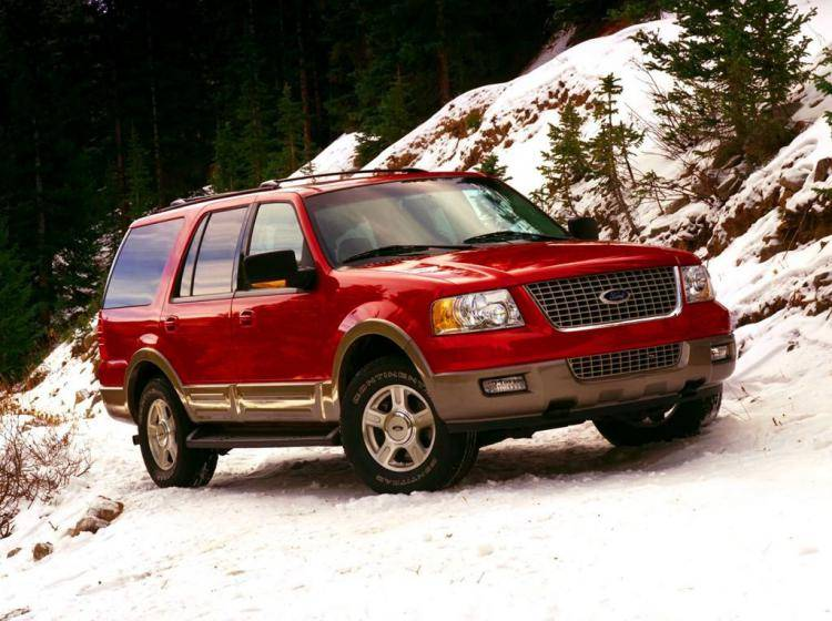 Фото Ford Expedition U222 - конкурент Jeep Liberty KJ
