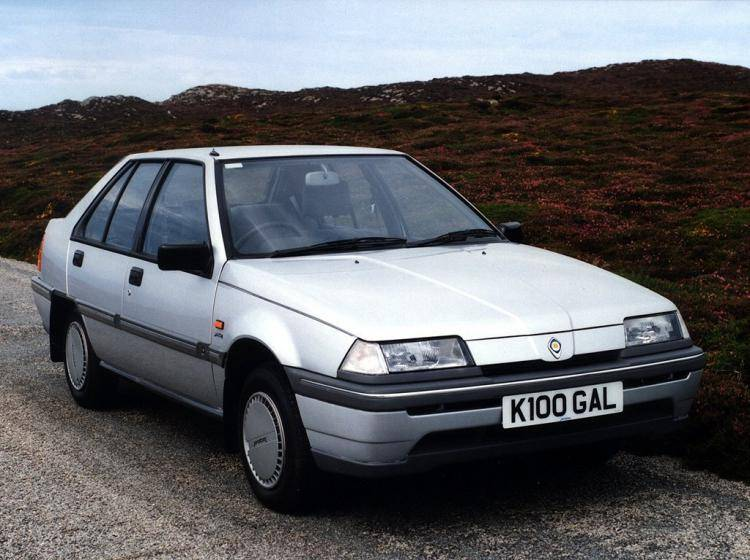 Фото Proton Saga I - схожий с Ford Focus (North America) II